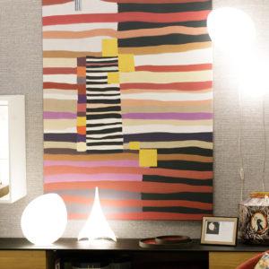 Détail de décoration au magasin MJ Concept